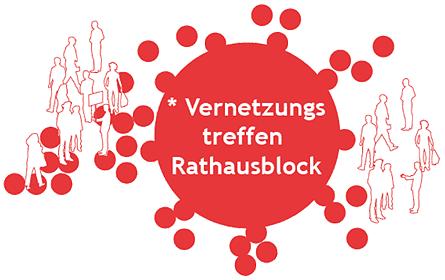 Logo Vernetzungstreffen Rathausblock